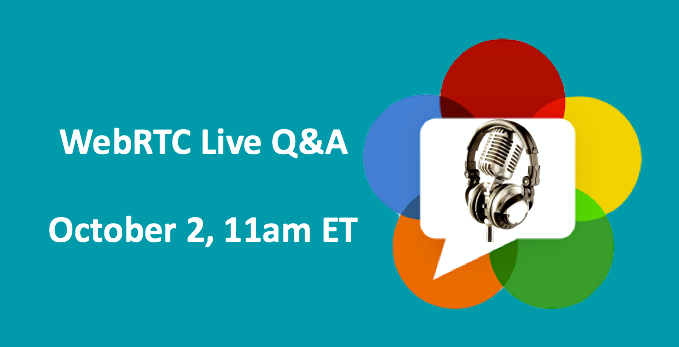 WebRTC Live Session Registration